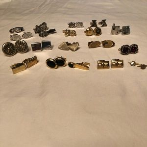 Other - Men's Vintage Cuff Links 16 Pairs